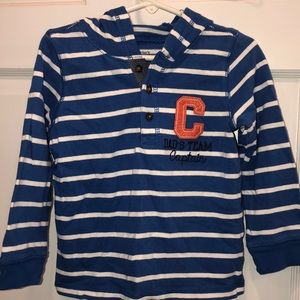 Carters boys hooded size 4T shirt